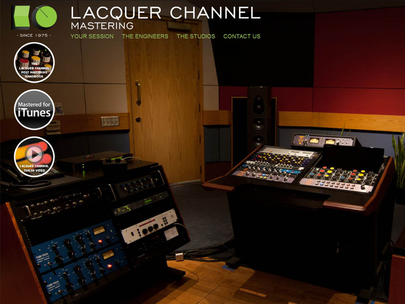 Lacquer Channel Mastering is one of Canada's finest Mastering Studios.