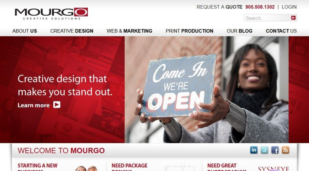 'Mourgo Creative Solutions I Custom design for print, multimedia and the web, as well as advertising and corporate identity_' - mourgo_com
